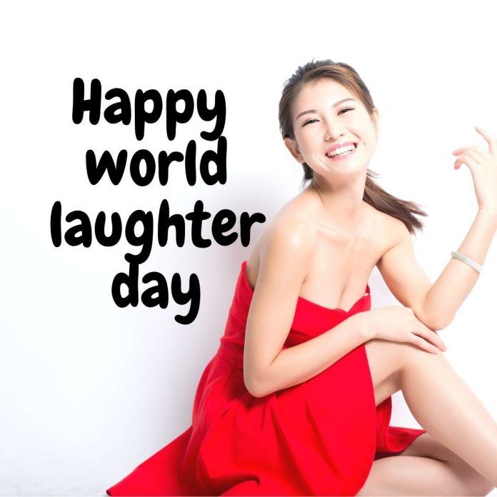 Happy world laughter day image for banner