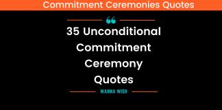 Commitment Ceremony Quotes