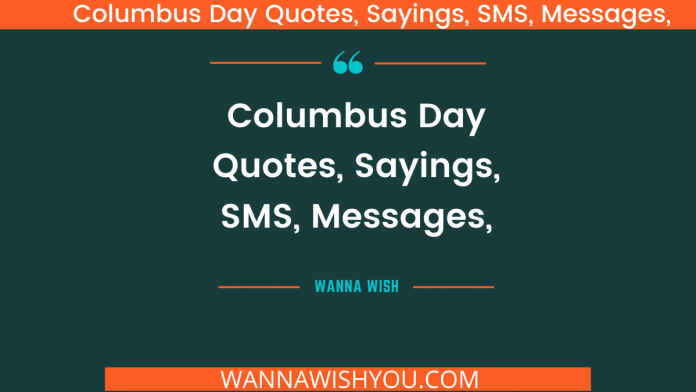 Columbus Day Quotes