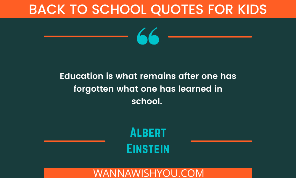 back to school quotes for kids