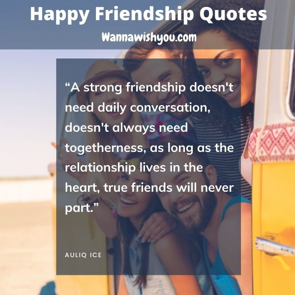 Happy Friendship Quotes