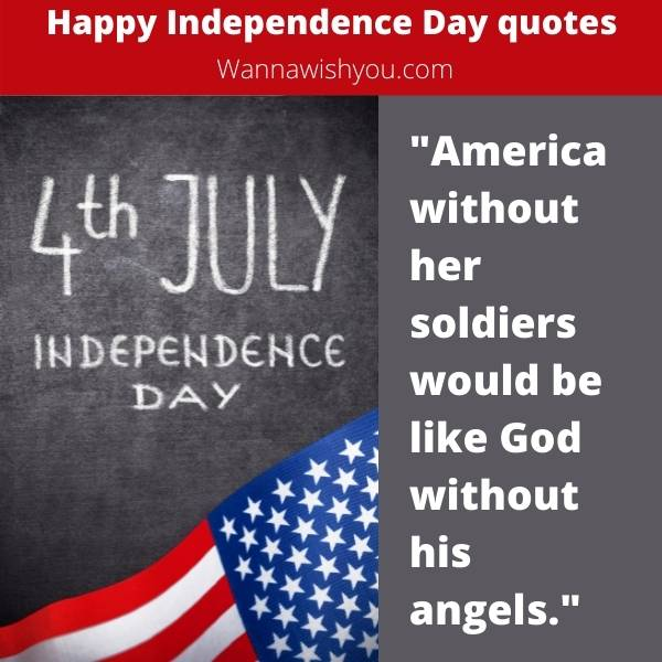 Patriotic quotes for 4th Of July independence day