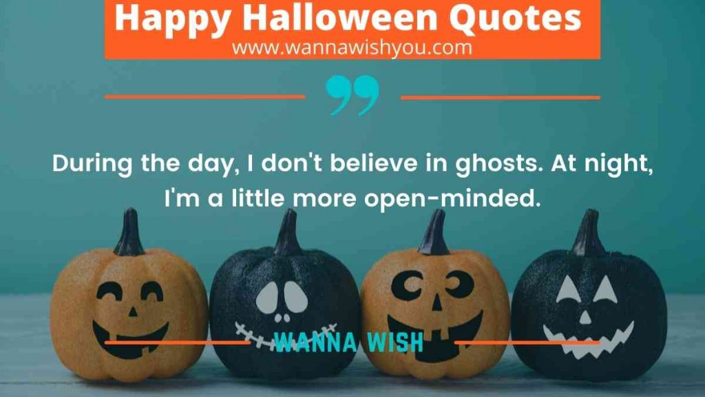 Fear & Scary Halloween Quotes
