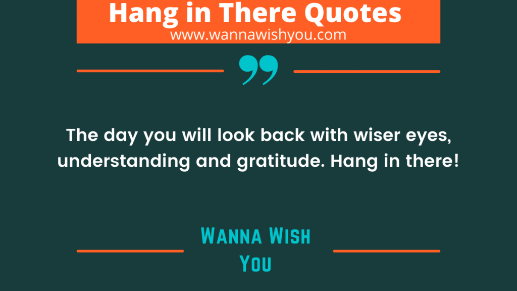 Strong Hang In There Quotes