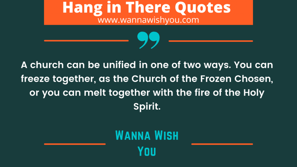 Church Homecoming Quotes