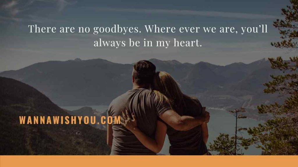 Good Bye quotes for your love