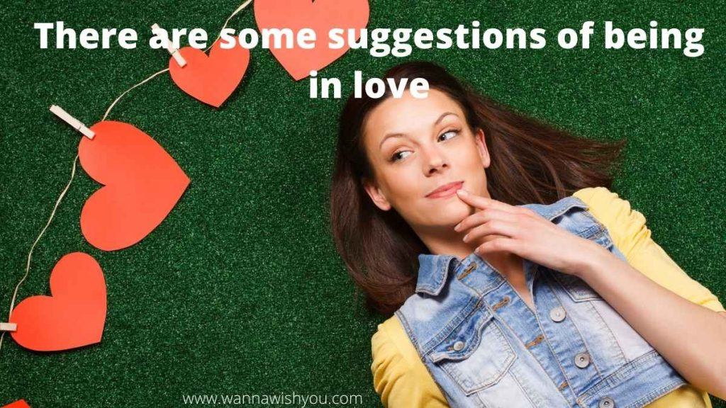 There are some suggestions of being in love