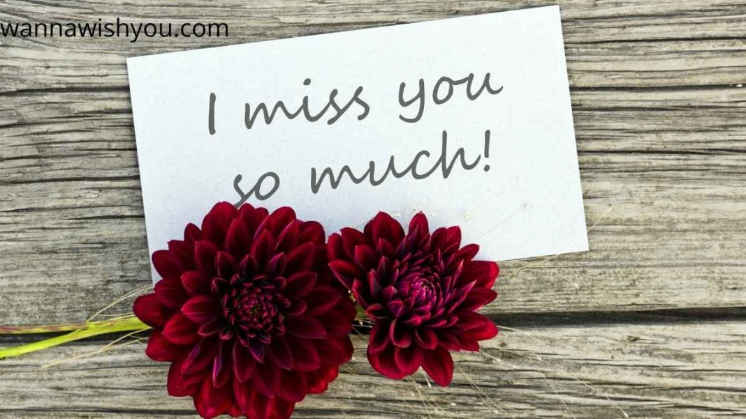 i miss you messages