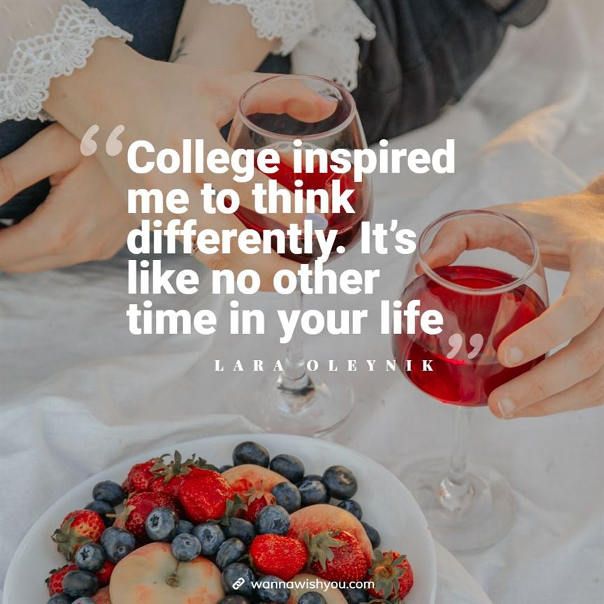 Best college time quotes