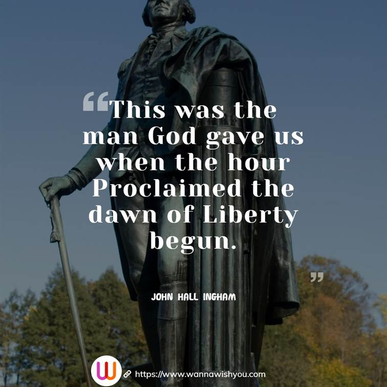 Quotes About George Washington