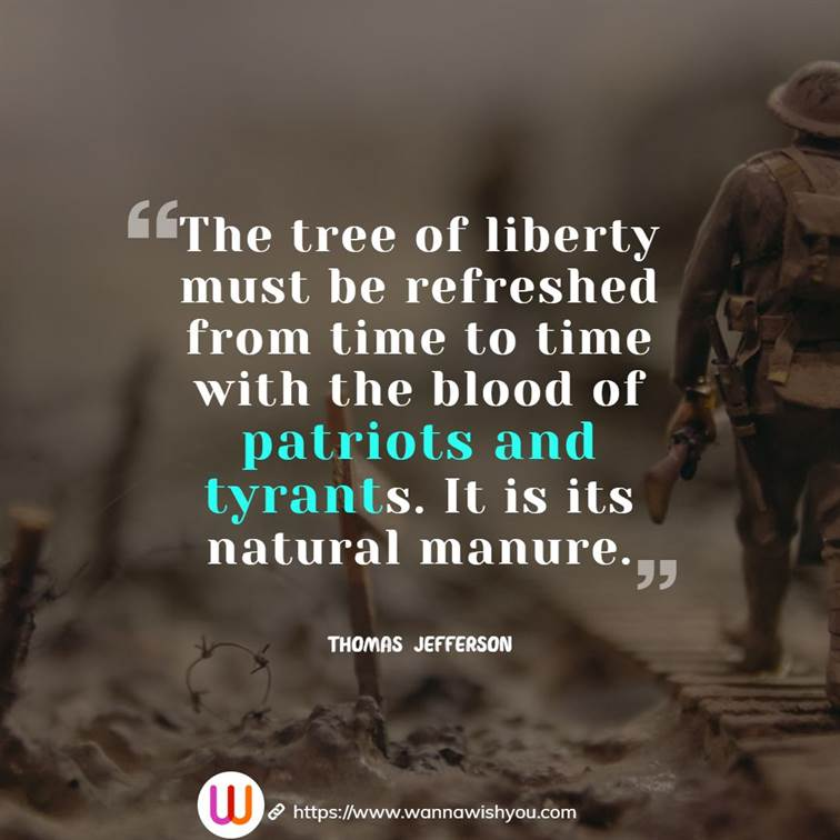 Thomas Jefferson quotes for Presidents Day